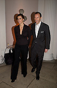 PRINCE & PRINCESS OF PRESLAV.Mario Testino, Bianca Jagger and Kenneth Cole celebrate Women to Women: Positively Speaking. - A publication to raise awareness of women living with Aids. The Orangery, Kensington Palace. 2 December 2004. ONE TIME USE ONLY - DO NOT ARCHIVE  © Copyright Photograph by Dafydd Jones 66 Stockwell Park Rd. London SW9 0DA Tel 020 7733 0108 www.dafjones.com