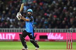 Worcestershire Rapids' Moeen Ali hits a boundary during the Vitality T20 Blast Final on Finals Day at Edgbaston, Birmingham.