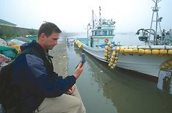 J. Nichols Checking GPS At Hamahata