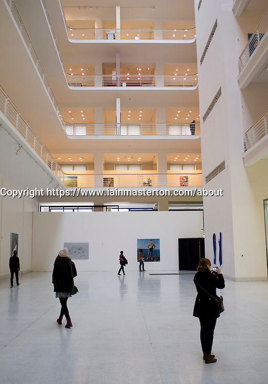 Museum of Modern Art or Veletrzni Palace Prague in Czech Republic