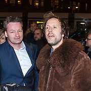 NLD/Amsterdam/20150306 - Boekenbal 2015, Ronald Snijders en ...............