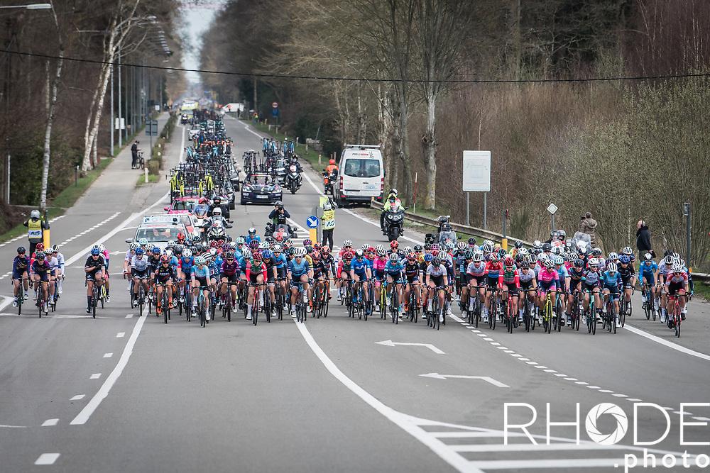 peloton<br /> <br /> Oxyclean Classic Brugge-De Panne 2021 (WE/1.WWT) - Belgium<br /> 1 day race from Brugge to De Panne (159km)<br /> <br /> ©RhodePhoto