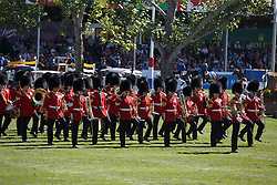 The Band of the Scots Guards <br /> BMO Nations Cup<br /> Spruce Meadows Masters - Calgary 2015<br /> © Hippo Foto - Dirk Caremans<br /> 12/09/15