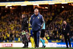 March 23, 2019 - Stockholm, SWEDEN - 190323 Head coach Janne Andersson during the UEFA Euro Qualifier football match between Sweden and Romania on March 23, 2019 in Stockholm..Photo: Joel Marklund / BILDBYRÃ…N / kod JM / 87914 (Credit Image: © Joel Marklund/Bildbyran via ZUMA Press)