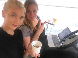 """Karlie Kloss releases a photo on Instagram with the following caption: """"Happy birthday to my soul sister @pennithow \ud83c\udf8a\ud83d\udc95What a privilege it is to call you my dear friend and biz partner, you are the definition of a BOSS \ud83d\udc4a\ud83c\udffbThere is no one else I would rather travel to all four corners of the earth with, (literally and figuratively) run marathons alongside, and build \u0026 dream bigger than I ever could\u2019ve imagined possible. Honored to be on this wild ride together. Wishing you all the absolute best in this next turn around the sun \u2764\ufe0f\u2728"""". Photo Credit: Instagram *** No USA Distribution *** For Editorial Use Only *** Not to be Published in Books or Photo Books ***  Please note: Fees charged by the agency are for the agency's services only, and do not, nor are they intended to, convey to the user any ownership of Copyright or License in the material. The agency does not claim any ownership including but not limited to Copyright or License in the attached material. By publishing this material you expressly agree to indemnify and to hold the agency and its directors, shareholders and employees harmless from any loss, claims, damages, demands, expenses (including legal fees), or any causes of action or allegation against the agency arising out of or connected in any way with publication of the material."""