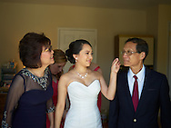 2016/08/27 -- Joyce & Peter -- Getting Ready photos in Union City, Calif., on Saturday, Aug. 27, 2016.<br /> <br /> Photos by Michael Chen