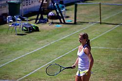 LIVERPOOL, ENGLAND - Sunday, June 24, 2018: Ellie Tsimbilakis (GBR) during day four of the Williams BMW Liverpool International Tennis Tournament 2018 at Aigburth Cricket Club. (Pic by Paul Greenwood/Propaganda)