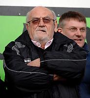 Photo: Daniel Hambury.<br />Brighton & Hove Albion v Leicester City. Coca Cola Championship. 11/02/2006.<br />Brighton's chairman, Dick Knight.