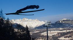 06.01.2015, Paul Ausserleitner Schanze, Bischofshofen, AUT, FIS Ski Sprung Weltcup, 63. Vierschanzentournee, Probedurchgang, im Bild Taku Takeuchi (JPN) // Taku Takeuchi of Japan during Trial Jump of 63rd Four Hills Tournament of FIS Ski Jumping World Cup at the Paul Ausserleitner Schanze, Bischofshofen, Austria on 2015/01/06. EXPA Pictures © 2015, PhotoCredit: EXPA/ JFK