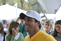 October 13, 2017 - Monza, Italy - Francesco Molinari of Italy on Day One of the Italian Open at Golf Club Milano (Credit Image: © Gaetano Piazzolla/Pacific Press via ZUMA Wire)