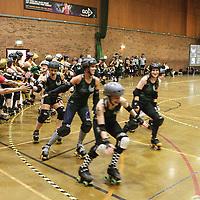 2014-09-27 Manchester Roller Derby Checkerbroads vs Liverpool Roller Girls