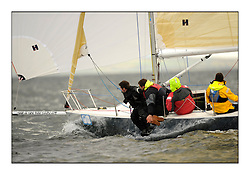 Brewin Dolphin Scottish Series 2010, Tarbert Loch Fyne - Yachting..Day one stated late but resulted in good conditions on Loch Fyne..GBR6423T ,Flint 2 ,Howard & Sam Dryden ,Port Edgar YC ,J80...