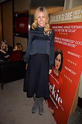 Marina Fogle at a private screening of Jackie hosted by Rosie Nixon and Tabitha Webb at the Bulgari Hotel, 171 Knightsbridge, London,  England. 12 January 2017.