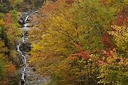 Silver Cascade Falls, Twin Mountain, NH (US), 10/7/2007 7:54:04 AM..NIKON D2X, 1 sec - f9.0, ISO 100, Nikkor 70-200 mm @70.0mm.