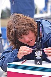 Jenny Checking Water Sample