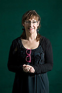 Irish comedienne and writer Pauline McLynn pictured at the Edinburgh International Book Festival where she talked about her latest book entitled Bright Lights and Promises. The three-week event is the world's biggest literary festival and is held during the annual Edinburgh Festival. 2008 was the Book Festival's 25th anniversary and featured talks and presentations by more than 500 authors from around the world.