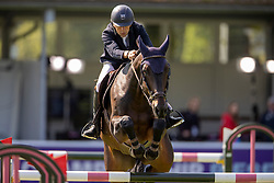 Vermeir Wilm, BEL, IQ van het Steentje<br /> Farewell from the sport<br /> European Championship Riesenbeck 2021<br /> © Hippo Foto - Dirk Caremans<br /> 04/09/2021