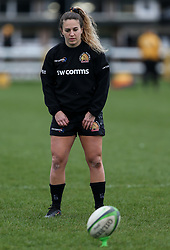 Gabby Cantorna of Exeter Chiefs  - Mandatory by-line: Arron Gent/JMP - 06/03/2021 - RUGBY - Twyford Avenue - Acton, England - Wasps FC Ladies v Exeter Chiefs Women - Allianz Premier 15s
