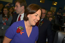 SCOTTISH PARLIAMENTARY ELECTION 2016 – Kezia Dugdale Scottish Labour Party at the Royal Highland Centre, Edinburgh for declaration of results.<br />(c) Brian Anderson | Edinburgh Elite media