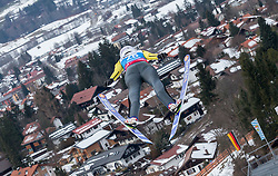 30.01.2016, Normal Hill Indiviual, Oberstdorf, GER, FIS Weltcup Ski Sprung Ladis, Bewerb, im Bild Julia Clair (FRA) // Julia Clair of France during her Competition Jump of FIS Ski Jumping World Cup Ladis at the Normal Hill Indiviual, Oberstdorf, Germany on 2016/01/30. EXPA Pictures © 2016, PhotoCredit: EXPA/ Peter Rinderer