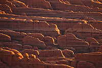 Rock formations in the Devils Garden area of Arches National Park