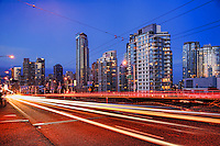 Granville Bridge & Downtown Vancouver