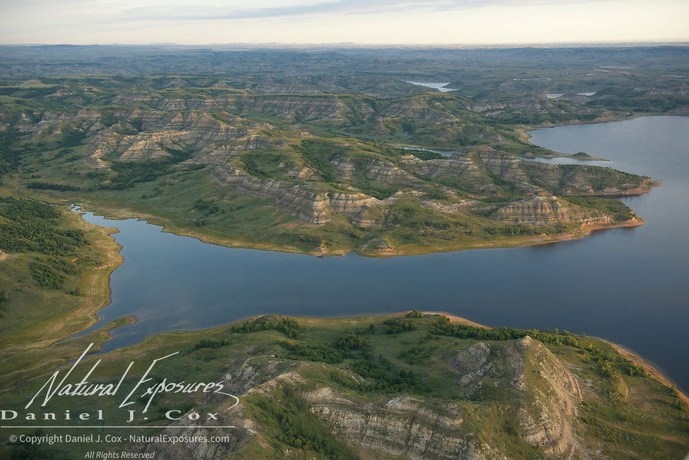 Bluffs of the Little Missouri River near the Bakken Formation, North Dakota