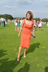 GEMMA ARTERTON at the Audi International Polo at Guards Polo Club, Windsor Great Park, Egham, Surrey on 26th July 2014.