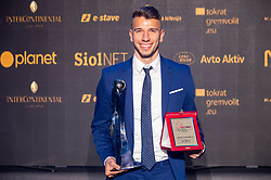 Jan Mlakar of Maribor during SPINS XI Nogometna Gala 2019 event when presented best football players of Prva liga Telekom Slovenije in season 2018/19, on May 19, 2019 in Slovene National Theatre Opera and Ballet Ljubljana, Slovenia. Photo by Vid Ponikvar / Sportida