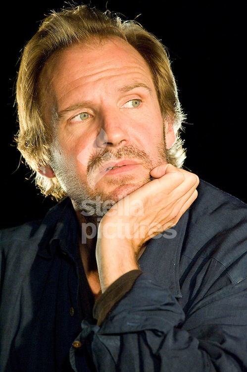 Picture by Alex Broadway. .16/07/11..Ralph Fiennes speaks during the BAFTA Q&A in the Film & Music tent at Latitude, a music and arts festival set on the Henham Estate in Suffolk..The event runs from July 14th to 17th 2011.