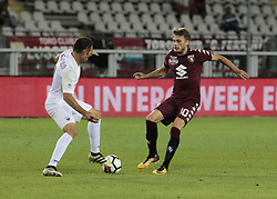 August 11, 2017 - Turin, Italy - Adem Ljajic during Tim Cup 2017/2018 match between Torino v Trapani, in Turin, on August 11, 2017. FC Torino win 7-1 the math. (Credit Image: © Loris Roselli/NurPhoto via ZUMA Press)
