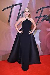 Lady Gaga attending The Fashion Awards 2016 at the Royal Albert Hall, London.