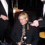 Miljonairfair 2004, Dennis van Tellingen in relaxstoel