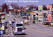 Southwest PA, Commerce, Intersection Interstates 76 and 70, US Rt. 30, Breezewood, Pennsylvania
