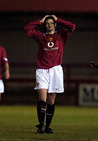 Photo: Jed Wee.<br /> Manchester United Reserves v Bolton Wanderers Reserves.<br /> 15/12/2005.<br /> <br /> Manchester United's Ole Gunnar Solskjaer.