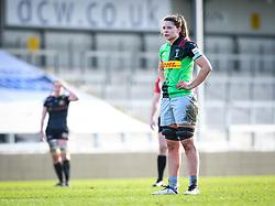 Abbie Ward of Harlequins - Mandatory by-line: Andy Watts/JMP - 06/02/2021 - Sandy Park - Exeter, England - Exeter Chiefs Women v Harlequins Women - Allianz Premier 15s