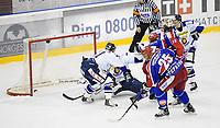 Ishockey<br /> 2 februar 2010<br /> Getligaen<br /> Vålerenga - Sparta Sarpsborg<br /> Shay Stephenson , Vålerenga gir hjemmelaget ledelsen 3 - 1<br /> Foto : Reidar Talset , Digitalsport