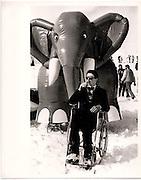 Martin Lyster D.S.C Ski Race St.Moritz 1984  ONE TIME USE ONLY - DO NOT ARCHIVE  © Copyright Photograph by Dafydd Jones 66 Stockwell Park Rd. London SW9 0DA Tel 020 7733 0108 www.dafjones.com