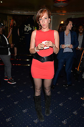 KATE GOLDSMITH at The Hoping Foundation's 'Starry Starry Night' Benefit Evening For Palestinian Refugee Children held at The Cafe de Paris, Coventry Street, London on 19th June 2014.
