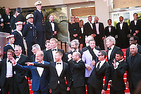 Dolph Lundgren, Harrison Ford, Patrick Hughes, Antonio Banderas, Mel Gibson, Jason Statham, Sylvester Stallone, Ronda Rousey, Wesley Snipes and Kellan Lutz at the The Expendables 3 red carpet at the 67th Cannes Film Festival France. Sunday 18th May 2014 in Cannes Film Festival, France.