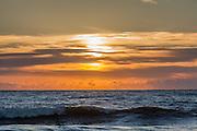 Dawn over the Atlantic