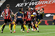 Goal 0-1 - Will Forrester (39) of Stoke City scores the opening goal during the EFL Sky Bet Championship match between Bournemouth and Stoke City at the Vitality Stadium, Bournemouth, England on 8 May 2021.