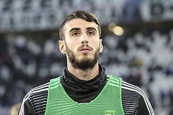 May 3, 2019 - Turin, Piedmont, Italy - Simone Muratore (Juventus FC) before the Serie A football match between Juventus FC and Torino FC at Allianz Stadium on May 03, 2019 in Turin, Italy..Final results: 1-1. (Credit Image: © Massimiliano Ferraro/NurPhoto via ZUMA Press)