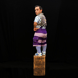 """Portrait of performer Paulo Cesar Oliveira dos Santos.<br /> <br /> A victim of bullying when we was younger, he said he was motived by the kids he met through his work. He learned English just in the last few years while on the road with Ringling Brothers. """"I see the kids and hug them. Some kids, you can feel it ... some kids need [extra] attention. I can hug [them], I can give love [to] the kids, because that [what] kids need. I love to [give my heart to them] because I feel like them."""" <br /> <br /> After 146 years, the """"Greatest Show on Earth"""" will close its curtain in the end of May. <br /> Ringling Bros. and Barnum & Bailey Circus started in 1919 when the circus created by James Anthony Bailey and P. T. Barnum merged with the Ringling Brothers Circus. The circus' parent company, Feld Entertainment, made the decision to end the show after waning ticket sales and long court battles over the treatment of animals, particularly the elephants, made the costly entertainment event unsustainable."""
