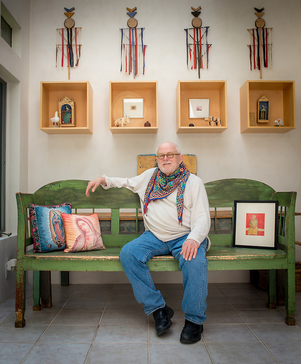 Notred Author and illustrator Tomie dePaola, photographed in his Studio.