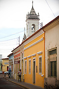 Cuiaba_MT, Brasil...Centro historico da rua Sete de Setembro em Cuiaba, Mato Grosso...The historical center in Sete de Setembro street  in Cuiaba, Mato Grosso...Foto: JOAO MARCOS ROSA / NITRO.....