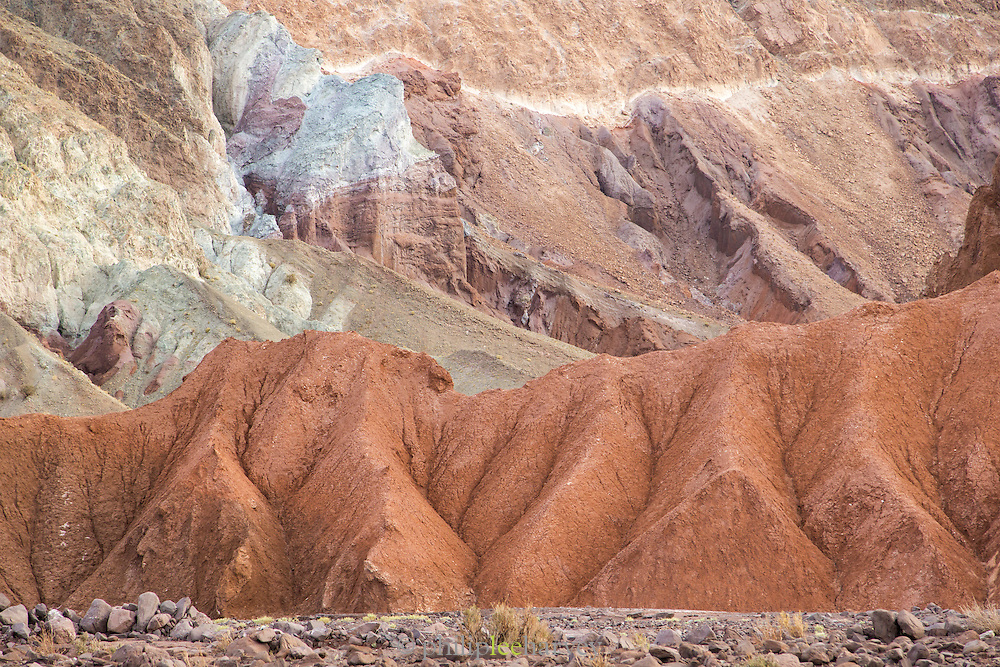 Coloured rocks, Atacama Desert, Chile, South America