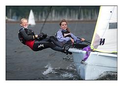 Largs Regatta Week - August 2012..RS VISION, 1020, Lindsay Johnstone, Chloe Rankin .