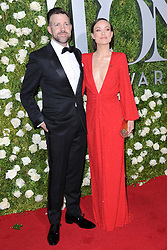 June 11, 2017 - New York, NY, USA - June 11, 2017  New York City..Jason Sudeikis and Olivia Wilde attending the 71st Annual Tony Awards arrivals on June 11, 2017 in New York City. (Credit Image: © Kristin Callahan/Ace Pictures via ZUMA Press)