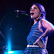 """honeyhoney perform April 29th, 2012 on the """"Billy Jack"""" tour at the Neptune Theatre in Seattle, Washington"""